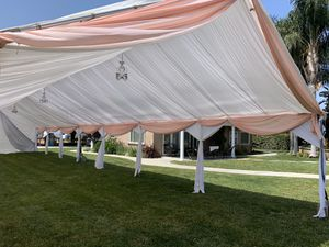 Tents and draping!!!!!!!!! for Sale in Ontario, CA
