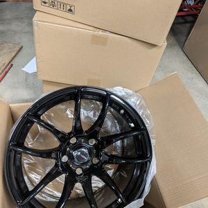 4 New 17x9 Vors 5x114.3 Wheels Black for Sale in Laurel, MD