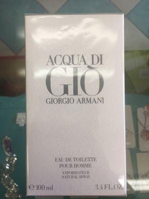 Giorgio Armani - Acqua di Gio, for Men for Sale in Brooklyn, NY
