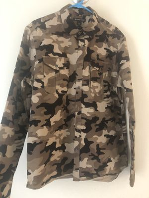 Michael Kors Long sleeve Camo Shirt for Sale in North Miami, FL