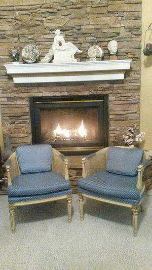 2 gorgeous solid wood chairs for Sale in Spencerville, MD