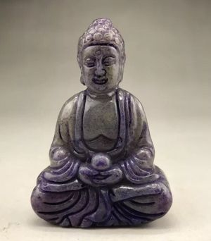 Natural Handcarved Jade Buddha Praying Statue for Sale in Chicago, IL