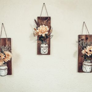 Hanging Mason Jar Vase for Sale in Waterville, WA