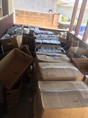 Boxes of DVDs and CDs for Sale in ROWLAND HGHTS, CA