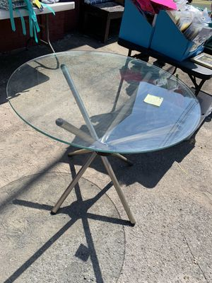 Glass table for Sale in Maidsville, WV