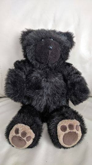 "Deri Cartier black teddy bear Cartier Bears 1984 around 16"" tall. for Sale in Vancouver, WA"