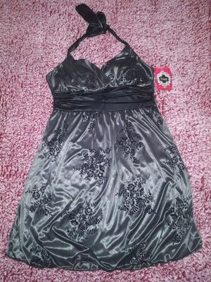 NWT Womens Trixxi Dress Size Large, Silver for Sale in Victoria, TX