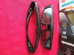 3D glasses Panasonic Viera super lightweight for Sale in Baltimore, MD