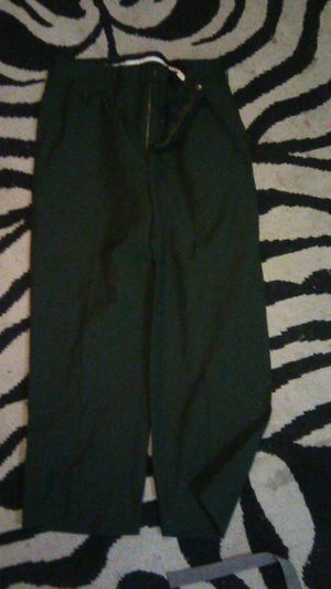 Army dress up pants green for Sale in Tacoma, WA
