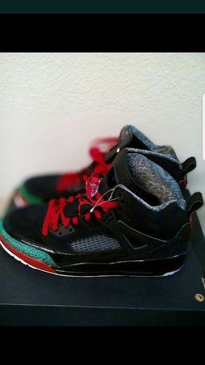 Jordan Spizike black varsity red men size 11 for Sale in San Leandro, CA