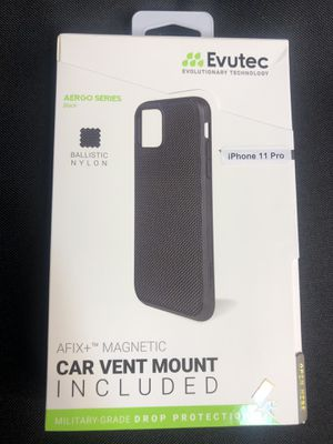 Case for iPhone 11 Pro Car Vent Mount Included for Sale in Winter Park, FL