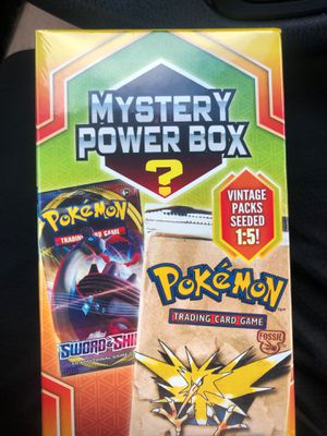 Pokemon Mystery Box find vintage packs!! for Sale in Suffolk, VA