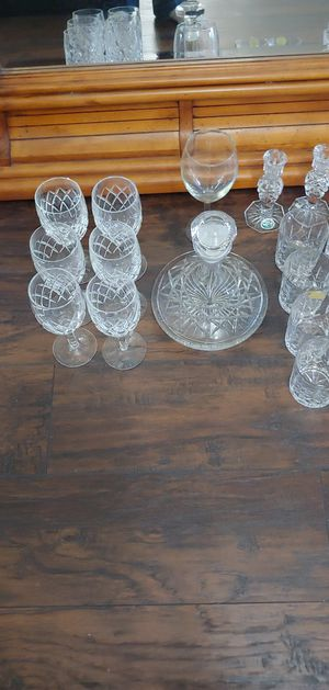 Toscany and Waterford Crystal glasses collection for Sale in Houston, TX