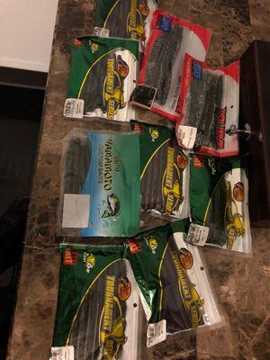 Fishing plastics for Sale in Ceres, CA