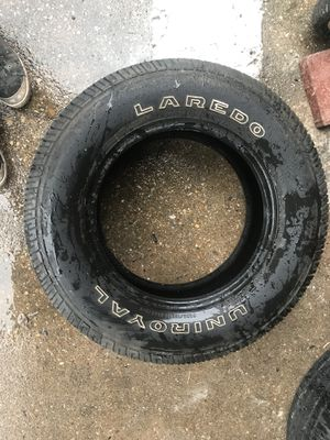 1 uniroyal 235 70 R16 tire $20 for Sale in Chillum, MD