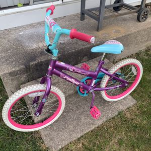 18″ Huffy Rallye Sweet Dreams Girls' Bike for Sale in Ypsilanti, MI