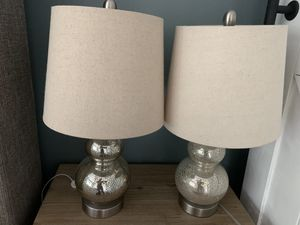 Set of two lamps for Sale in Sandy, UT