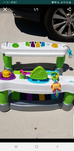 Fisher Price Little Super Star Step 'n Play Piano for Sale in Sun City Center, FL