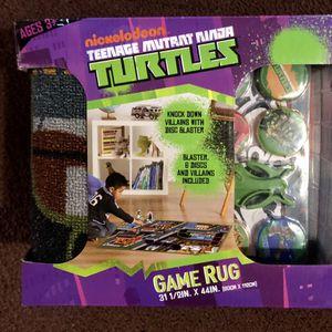 Ninja turtles game rug for Sale in Glendale, CA