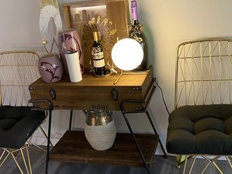 Two Gold Accent Chairs for Sale in Kenmore,  WA