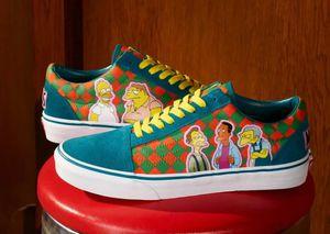 Vans Simpsons 8 men's collector shoes for Sale in Union Park, FL