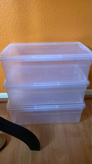 Storage Containers 3 for $1 for Sale in Glendale, AZ