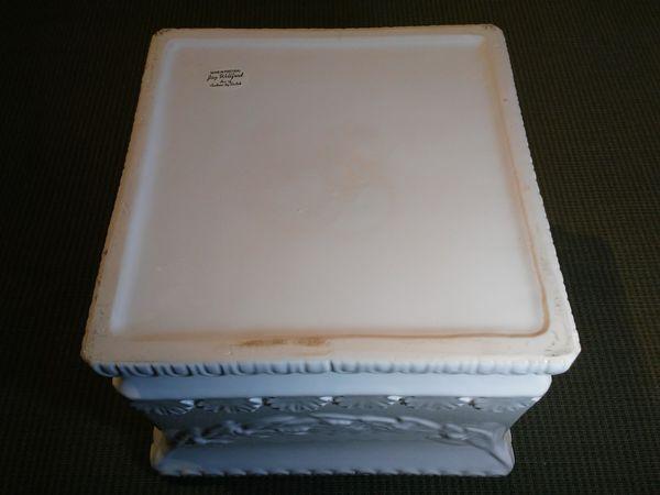 Large White Ceramic Planter