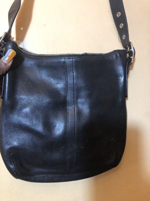 Leather Crossbody coach bag for Sale in Capitol Heights, MD