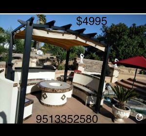 Fire pits BBQ Islands custom made palapas grills outdoor furnishings for Sale in Irvine, CA
