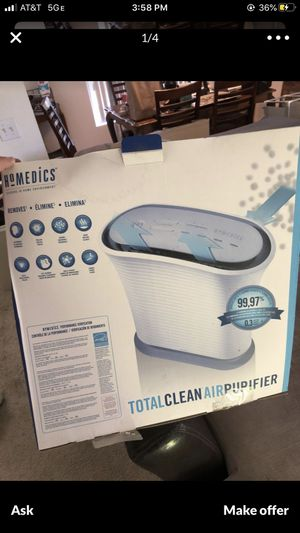 Homedics HEPA air purifier for Sale in Irvine, CA