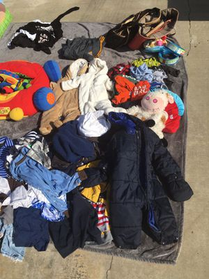 Baby clothes and changing table for Sale in Bakersfield, CA