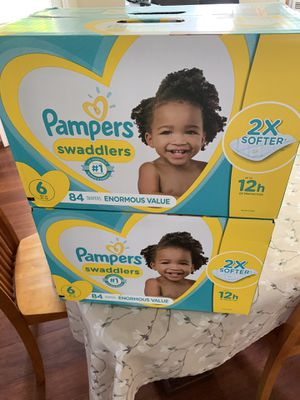 Pampers swaddlers for Sale in Pomona, CA