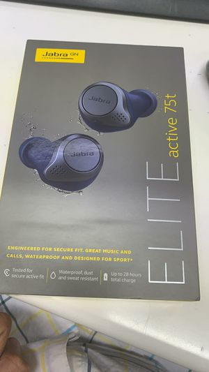 Jabra Elite Active 75t Earbuds Brand new sealed with 1 year warranty for Sale in The Bronx, NY