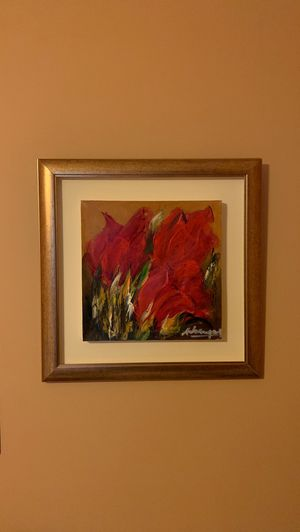 """Oil painting """"Red Tulips"""" for Sale in Alexandria, VA"""