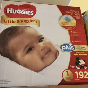 Baby Diapers Size 1 for Sale in Brooklyn, NY