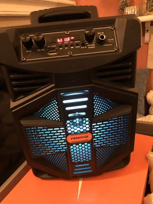 Bluetooth PA Speaker with microphone 🎤 for Sale in Redlands, CA