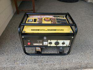 Champion Generator 3500 watt for Sale in Vancouver, WA