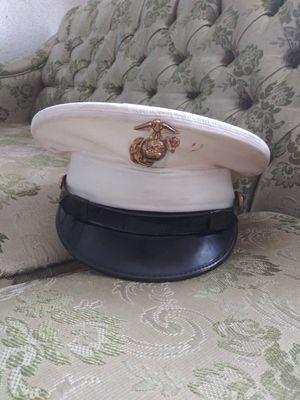 Vintage USMC White Dress Hat for Sale in Detroit, MI