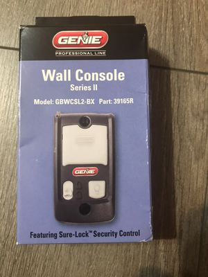 Garage Door Opener Wall Console for Sale in Ewing Township, NJ