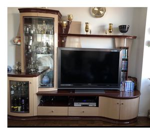 Living room Entertainment Wall Unit for Sale in Queens, NY