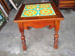 Antique tile top table for Sale in Redondo Beach, CA