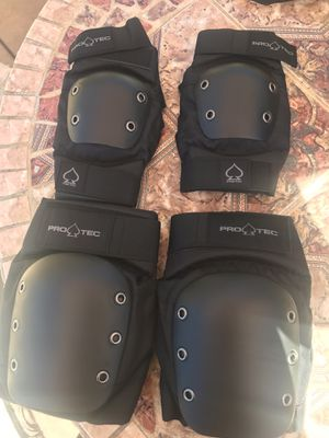 Brand new Pro Tec Knee pads and Elbow pads for Sale in Santa Maria, CA