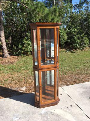 Pulaski Corner Curio 🚗 DELIVERY AVAILABLE for Sale in Bonita Springs, FL