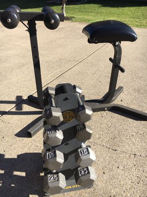 GOLD'S GYM WEIGHTS SET for Sale in Murfreesboro, TN