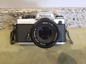 Nice Nikon FE Camera w/ 50mm Lens for Sale in San Diego, CA