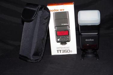 Godox TT350o TTL 2.4G Flash Speedlite + X1T-O Trigger For Olympus / Panasonic for Sale in Stockton,  CA