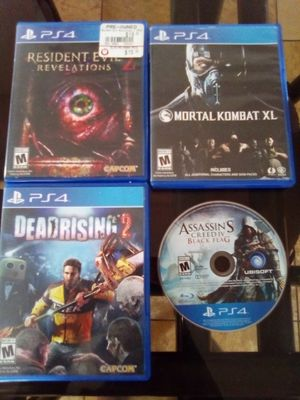 PS4 Games $15 Each Perfect Condition for Sale in Apple Valley, CA