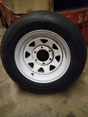 Trailer tire and rim for Sale in Whittier, CA