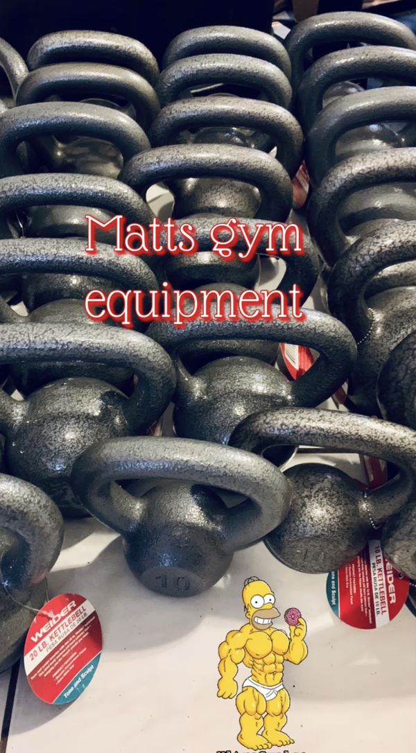 Gym Equipment For The Home (starting At $10 For Weight Plates )