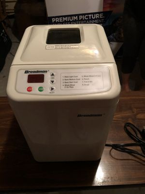 Breadman bread maker for Sale in Harrisburg, PA